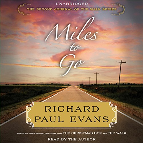 Miles to Go audiobook cover art
