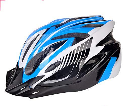 BOC Czz Fahrradhelm, Fahrrad Mountainbike Reitkappe, Fahrradausrüstung Sicherheit Männer Und Frauen Hut,C,Helm