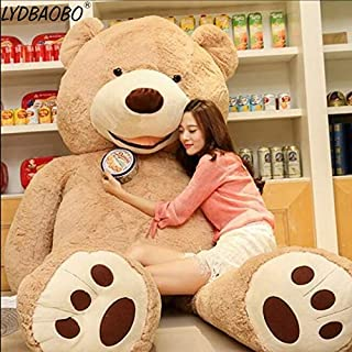 APTRIE 1Pc 100Cm America Giant Empty Bear Plush Toys Soft Teddy Bear Skin Doll Ular Birthday & Valentine's Gifts for Girls Kid's Toy Thing You Must Have 21St Birthday Gifts Girl S Favourite