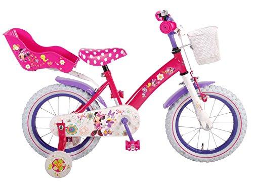 Disney Vélo Minnie pour Fille - Rose et Violet