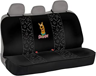 Scooby Doo All-Protect Rear Bench Seat Cover for Cars – Waterproof Material with Universal Fit for Sedan, Van, Truck and SUV