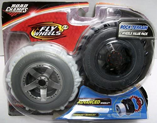 Road Champs Fly Wheels 2.0 Advanced Wheels 2 Pack - Rock Terrain by Fly Wheels