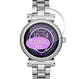 Vaxson - Pellicola proteggi schermo in vetro temperato, compatibile con Michael Kors Access Sofie 2 42 mm Smartwatch Hybrid Watch, pellicola protettiva 9H