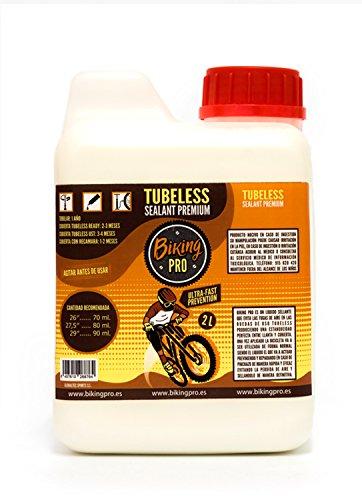 Biking Pro liquido tubeless 2L antipinchazos. Gama Premium