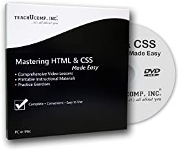 Mastering HTML5 and CSS3 Made Easy Training Tutorial Course DVD-ROM