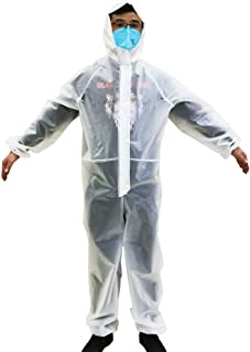 MZY1188 Tuta Protettiva con Cappuccio monouso Non Tessuta con Cappuccio Tuta Protettiva con Cappuccio antistatica Anti-ust