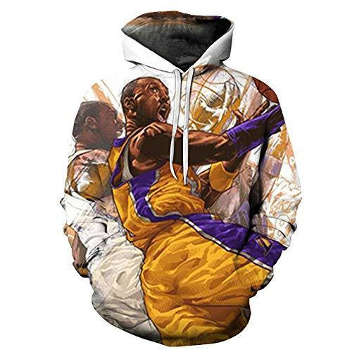 Männer und Frauen # 24 Kobe Bryant Hoodie Basketballjacke Langarm Sweatshirt-A_2XL