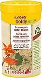Sera Goldy Nature 250 ml Escamas para Carpas Doradas, para un Crecimiento Sano y Colores Brillantes, 250ml (60g), 60