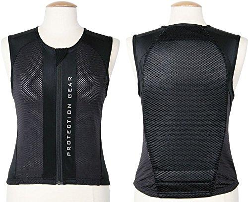 Rückenprotektor Rückenschutz Sicherheitsweste Reiten angenehm zu tragen schwarz