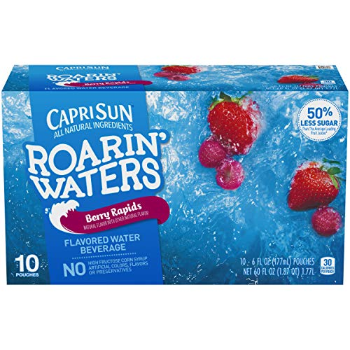 Capri Sun Roarin' Waters Berry Rapids Ready-to-Drink Juice (10 Pouches)