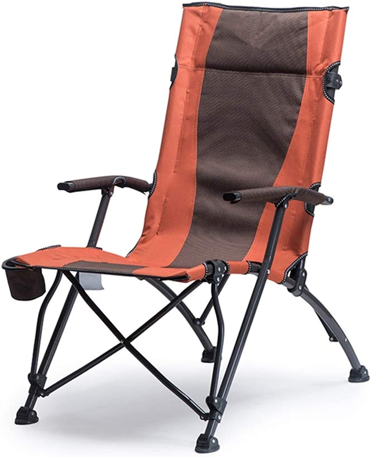 Lounge Chairs Folding Chair Recliner Camping Chair Portable Beach Garden Barbecue Fishing Bedroom Adult, Bearing 150kg