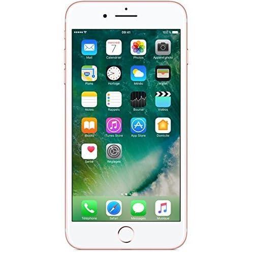 Apple iPhone 7 Plus Smartphone Libre Oro Rosa 128GB (Reacondicionado)