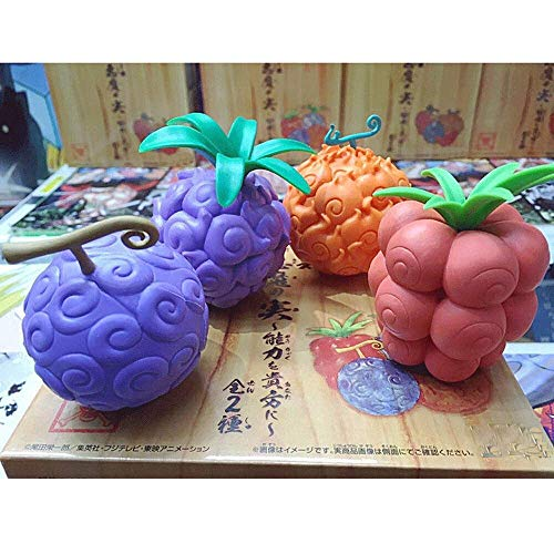 Zpzzy One Piece Devil Fruit Dark Fruit Rubber Rubber Fruit Mera-mera Fruit Anime Manga Toy Boxed Ornaments Anime Fans  Favorite Gifts Collectibles