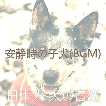 安静時の子犬(BGM)