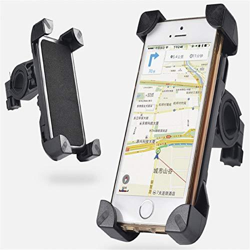 SJMLP Mobiele telefoonhouder Universeel Fiets Telefoonhouder Stuur Clip Stand Voor iPhone 8 7 5 SE Mount Bracket Bike Telefoonhouder Voor Samsung S8 S7