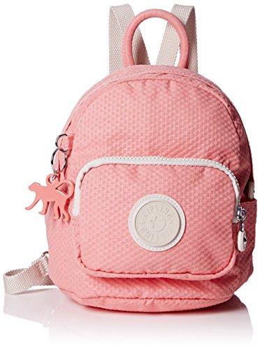 Kipling Damen MINI BACKPACK Rucksack, Mehrfarbig (Dots Shell Pink Q29), 19x21.5x17 cm