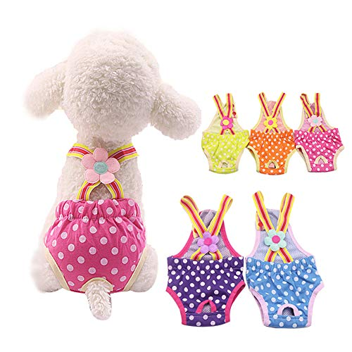 Xxs Washable Dog Female Diaper for Puppies