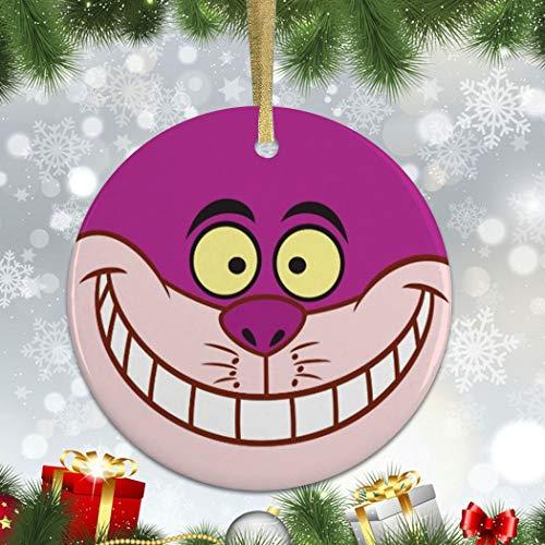 None-brands Xmas Ornament 2020 Christmas Claus Alice In Wonderland Cheshire Cat Xmas Ornament Accents, Ornaments Xmas, Decor Xmas, Ornament Xmas, Home Living Keepsake