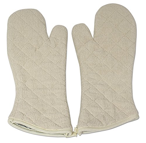 Nouvelle Legende Cotton Quilted Terry Oven Mitts...