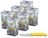Lock&Lock |HPL809 Vorratsdosen & Frischhaltedosen|Füllmenge 1,3 L|BPA frei & spülmaschinengeeignet | luftdicht & wasserdicht | Aufbewahrungsdose & Vorratsbehälter mit 4fach...