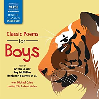 Classic Poems for Boys audiobook cover art