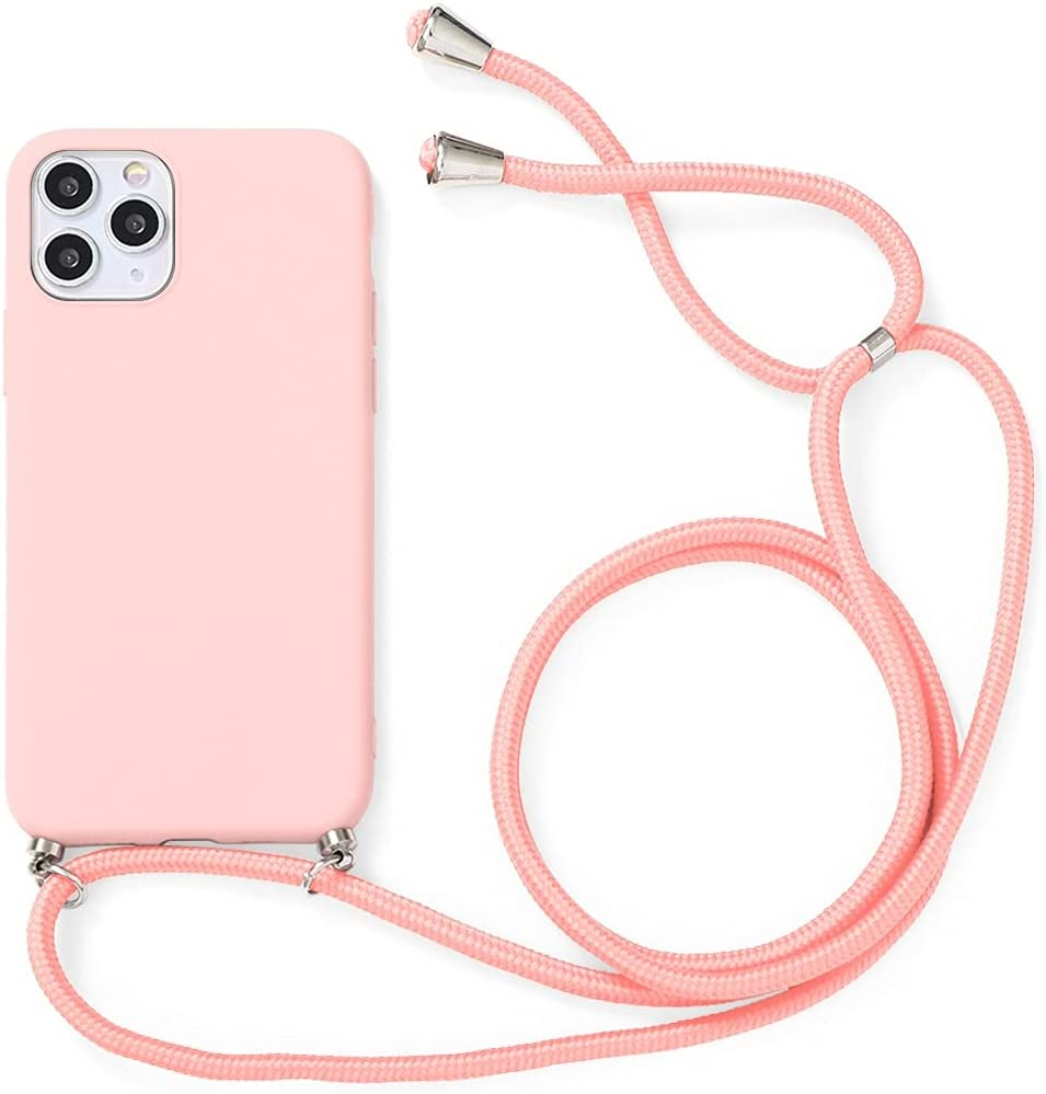 Yoedge Crossbody Case for Huawei P Smart 2019 / Honor 10 Lite, Neck Cord Phone Case with Adjustable Lanyard Strap, Soft TPU Silicone Shock-Proof Cover Compatible with Honor 10 Lite [6.21