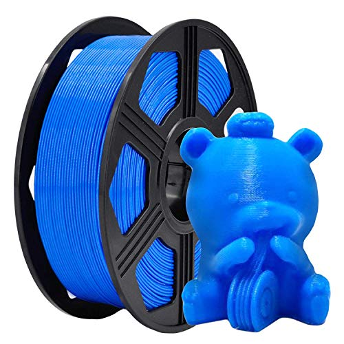 YOYI 3D Printer Filament, PLA Filament 1.75mm 2.2 lbs Spool (1kg), Dimensional Accuracy +/- 0.02 mm, 100% Europe Raw Material(blue)