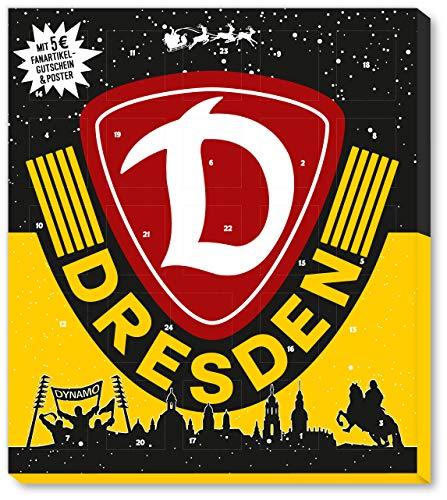 Fussball SG Dynamo Dresden Premium Adventskalender mit Poster Weihnachtskalender