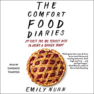 The Comfort Food Diaries audiobook cover art