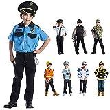 Viste a América - 829 - El Jefe de policía Set - Edad 3-6 años - One Size - Niños 3-6 años - Navy