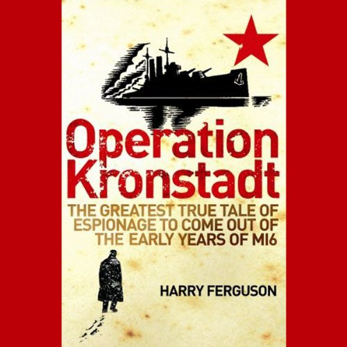 Operation Kronstadt audiobook cover art