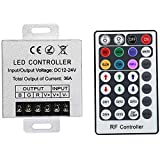 JOYLIT 28 Keys LED RF RGB Remote Controler for RGB SMD 3528 5050 LED Strip LED Lights Controller Input DC12V 30A
