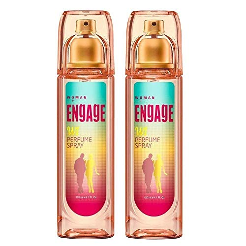 Glamorous Hub Perfume en spray para mujer - W1 (120 ml) (paquete de 2)