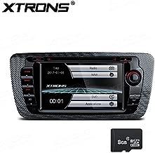XTRONS 7Inch HD Pantalla táctil Digital Coche estéreo in-Dash Reproductor de DVD con GPS, canbus, duplicado de Pantalla para Seat Ibiza 2009–2013Kudos Tarjeta de Mapa Incluye