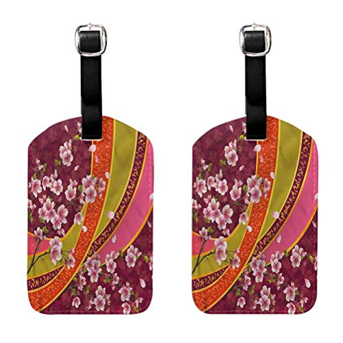 Hot sale 1pc Flowers Ivy Leaves Buds Luggage Tags