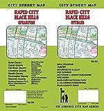 Rapid City / Black Hills / Sturgis / Badlands Natl Park, South Dakota Street Map