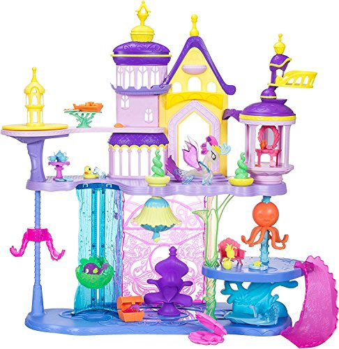 Hasbro My Little Pony C1057EU4 - Movie Schloss Canterlot und Seaquestria, Spielset