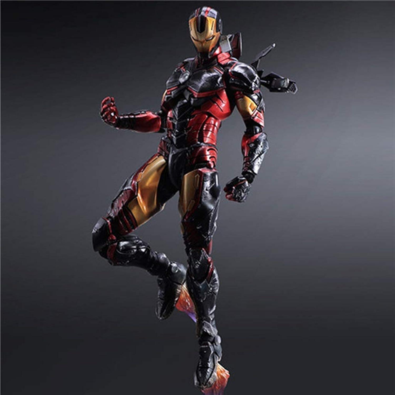 suministro directo de los fabricantes Anime Anime Anime Personaje de Juego de Dibujos Animados Iron Man Modelo Estatua de 27 cm de Adorno de Juguete CQOZ  ganancia cero