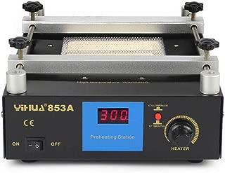 110V 853A BGA Infrared Rework Station 6OOW Hot Plate Preheat Preheating Station Oven Welder
