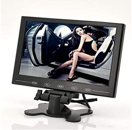 BW 9 Zoll TFT LCD Monitor - In-Car Kopfstütze / Ständer, Ultra-Thin Design, 800x480 Auflösung