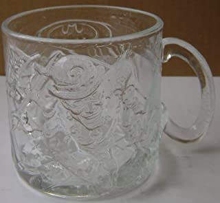 Collectible Batman Forever Glass Cup Mug - Riddler by A Great Baker