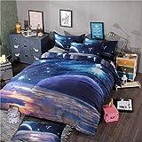 Bedclothes-Blanket Copripiumino per Culla,3D Quattro Set di Biancheria da Letto Stella-Un_1,5 m è Stato Venduto 150 * 200