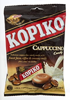 Kopiko Snack Candy Cappuccino 4.23-Ounce  Pack of 8