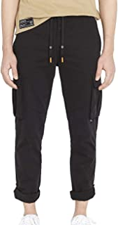 Avirex Men's Roll Up Cargo Pants