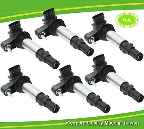 Lot de 6 bobines d'allumage pour 9-3 2.8T V6 Turbo YS3F B284 12629037 2005-15