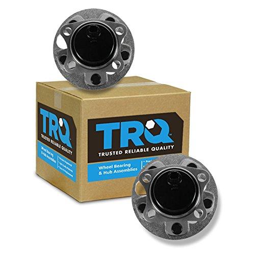 TRQ Wheel Bearing & Hub Assembly Rear Pair Set for 08-13 Scion xB
