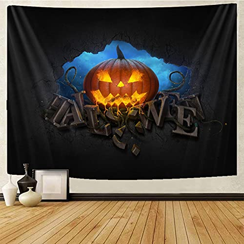 binghongcha Tapiz 3D Halloween Tapices Mat Manta De Toalla De Playa, Sábana De Playa De Picnic, Boho, Colgante De Pared Decorativo A296 130(H) X150(An) Cm