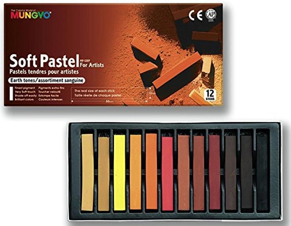 Mungyo Square Dry Set of 12?Pencils Blood