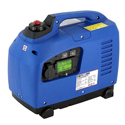 DENQBAR groupe électrogène Inverter 1200 watts portable essence, ultra silencieux et léger