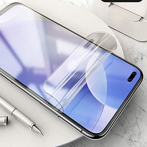 ONICO Display Schutzfolie für Xiaomi Poco F2 Pro/Redmi K30 Pro,TPU Selbstheilend Anti-Bläschen 3D-Gebogenen Volle Bedeckung Folie kompatibel mit Xiaomi Poco F2 Pro/Redmi K30 Pro [2 Stück]
